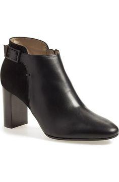 Aquatalia  Verona black calfskin bootie  324 Booties Outfit a7b91eb8b4a0
