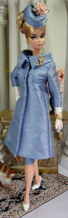 Vintage Blue for Silkstone Barbies