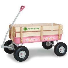 John Deere Pink Stake Wagon