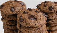 My recipe for happiness starts with Dove and ends with this delicious treat: Chocolate Fudge Chunky Cookies