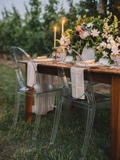 Candlelit table decor | The Twins Photography