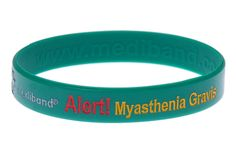 Myasthenia Gravis - Mediband - May need to look into one of these.