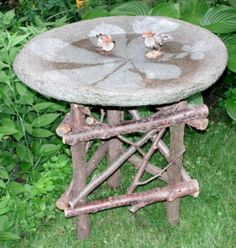 21 Best Concrete Bird Bath Images On Pinterest Concrete