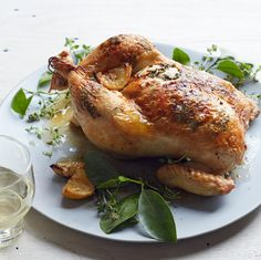 Lemon-Thyme Roast Chicken | Food & Wine