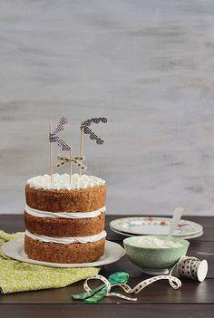 Tarta de zanahoria o carrot cake #quecosatandulce me encanta !!!