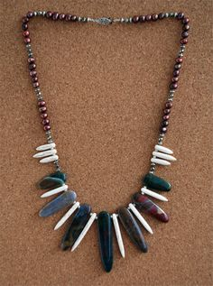 Agate Tribal Necklace · lumibon · Online Store Powered by Storenvy