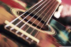 Cute Guitar Wallpaper