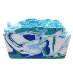 Capricorn Sea CP swirl soap made by students at Soap School
