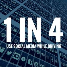 "Study shows just how much drivers are using social media when they are behind the wheel. It's scary.  ADVICE TO ALL:  For the sake of you and those around you, PLEASE keep your eyes on the road, not on your phone.  Of the 10 percent of drivers who tweet while driving, about one-third said they do it ""all the time.""  Keep Reading: - http://www.zacharlawblog.com/2015/05/study-4-in-10-use-social-media-while-driving.html#SocialMedia"