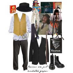 """Benny and Joon"" Johnny Depp as Sam, created by lilbailey.polyvore.com"
