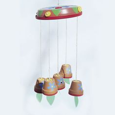 Flowerpot Chime - mother's day perhaps?
