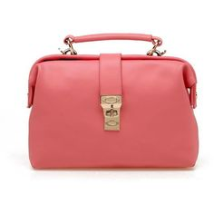 86ab60b6d0 Vintage Pink Leather Handbag Leather Handbags Online