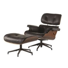Design Moderne, Eames, Lounge, Furniture, Home Decor, Swivel Chair, Leather, Airport Lounge, Drawing Rooms