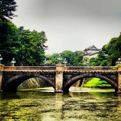 Imperial Palace, in Tokyo Japan. Been there and have that exact picture!!