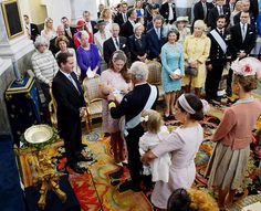 Christening of Princess Leonore of Sweden