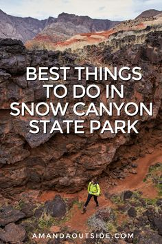 Snow Canyon State Park in Utah (The Complete Guide) — Amanda Outside Alaska Travel, Travel Usa, Alaska Cruise, Snow Canyon State Park, Utah Hikes, Tennessee Vacation, Us National Parks, Best Hikes, United States Travel