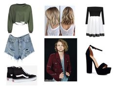 """Date with Ashton Irwin"" by marianaraposo on Polyvore featuring WithChic, Vans and Boohoo"