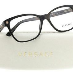 Versace Eyeglasses Versace Eyeglasses New and Authentic   Black frame  54MM  Includes original case Accessories Glasses
