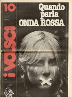 Cover of the newspaper I Volsci, March 1980.
