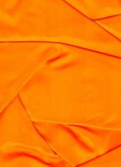 Neon Orange Sparkle Organza Fabric - Bridal Fabric by the Yard Orange Pastel, Light Orange, Green And Orange, Orange Color, Orange Zest, Neon Yellow, Rainbow Aesthetic, Orange Aesthetic, Aesthetic Colors