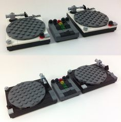 LEGO Technics Turntables