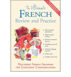 """The Ultimate French Review and Practice: mastering French grammar for confident communication - 2 discs, 1 guide - DC00245 -- """"More than 40 exercises, 15 dictations and a booklet containing all the answers."""""""