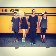High school Badass ! 🇺🇸🚍 @noseph @shintani