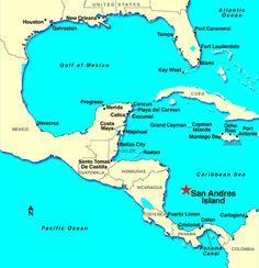 mapa cartagena y san andres - Buscar con Google