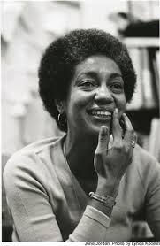 Poemas da página que falta: June Jordan (1936~2002)