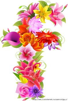 Alphabet, Letters And Numbers, Lettering, Nature, Plants, Monogram, Cards, Flowers, Lyrics