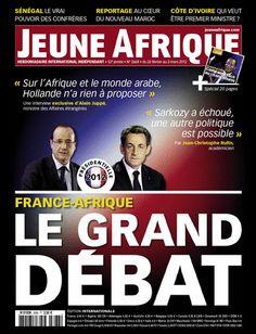 La couverture de Jeune Afrique le 26 Fevrier 2012
