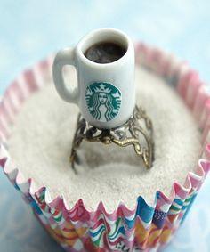 starbucks black coffee ring