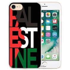 Palestine Palestinian Flags Hard Transparent Phone Case Cover Coque for Apple iPhone 4 4s 5 5s SE 5C 6 6s 7 Plus
