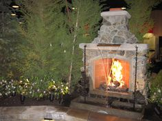 Prettiest fireplaces ever. Darrell's outback fireplaces.  www.outbackfireplaces.com