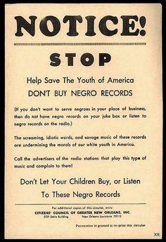 Don't Buy Negro Record :1961