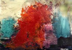 MIS CUADROS (Pintura abstracta): CONTRASTES, ABSTRACCIÓN