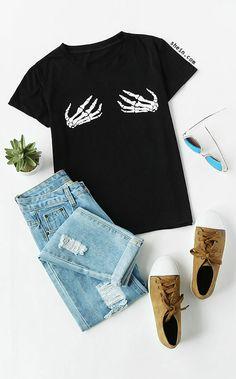 Hand Print T-shirt