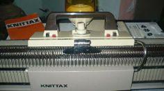 Maquina De Tejer Knittax Automatic Ii Doble Frontura