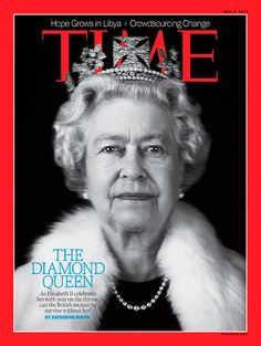The Diamond Queen | June 4, 2012 - Gotta admire her for doing her job without fail for 60 years.