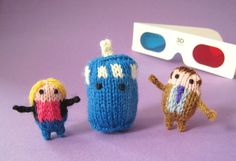 Tiny Dr. Who mochis from Anna Hrachovec over at MochiMochi Land!