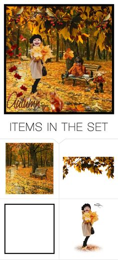 """Welcome Fall/Autumn Art Sets"" by purplerose27 ❤ liked on Polyvore featuring art"