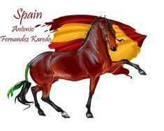 Horse Hetalia: Spain by Moon-illusion on deviantART