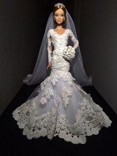 Barbie réplica da noiva | Recordação do Casamento