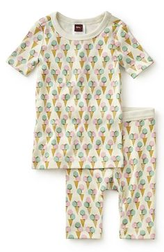 abe7a470f sweet sleep Tea Collection 'Varese Gelato' Fitted Two-Piece Pajamas  (Toddler Girls, Little Girls & Big Girls) available at