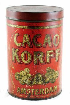 Cacao Korff Amsterdam C. B 19 | Antiek & Restauratie | Smeerling, Groningen