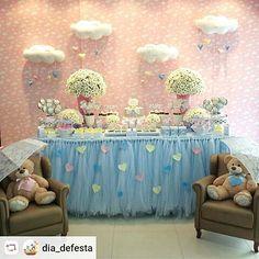 "54 Likes, 2 Comments - Festa do Sonho   (@festadosonhobr) on Instagram: ""Festa linda com tema Chuva de Amor ❤ #festainfantil #festachuvadeamor #chuvadeamor #chuva…"""