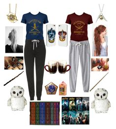 """Harry Potter Marathon!"" by emily6600 ❤ liked on Polyvore featuring Topshop and Quiksilver"