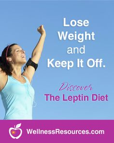Discover how mastering the fat hormone leptin is the key to permanent weight loss, better energy, and improved health! Lose weight and keep it off!  #leptin #weightloss