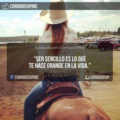 Hay que ser sencillos.!   ____________________ #teamcorridosvip #corridosvip #corridosybanda #corridos #quotes #regionalmexicano #frasesvip #promotion #promo #corridosgram