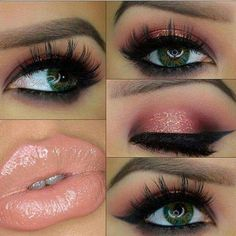 Beautiful makeup for valentines day